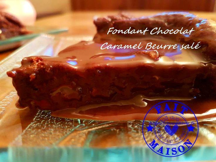 Fondant Chocolat Beurre Salé Thermomix 1