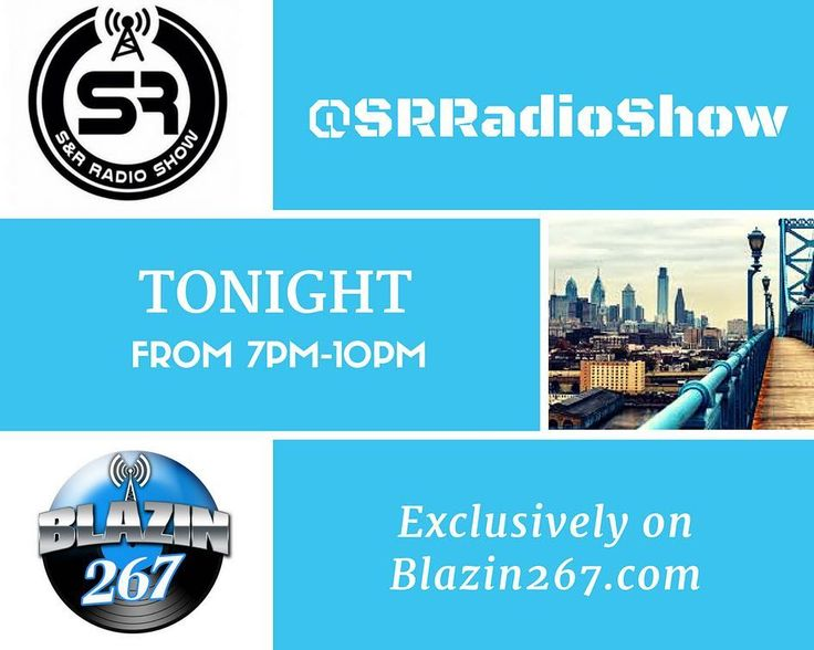 Don't forget to tune in at 7pm to the @srradioshow exclusively on @blazin267radio  it's the hottest 3hrs of online radio wit @djspontane @chocbelafonte @djsmoke @dj_kg_ @dellbowonder @visionz215 and ya boy @steadystills  shout to our sponsors @bazookaenergydrink_ @dont.paniq1 @littlemansjuicebarandgrill #philadelphia #phillyhiphop #philly #phillyradio #hiphop #reggae #rnb #todayshits #localartist #industry #talkshow #musicmix #tonight #wednesday #trending #viral #tunein #logon #wearephilly…