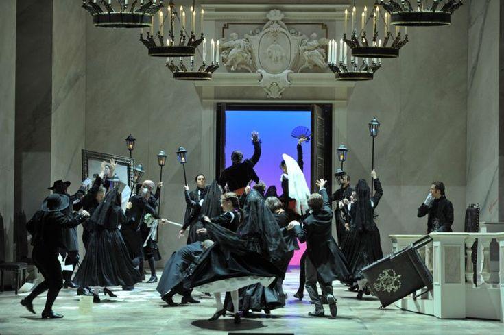 LE NOZZE DI FIGARO Inszenierung Michael Hampe DEUTSCHE OPER AM RHEIN 2012