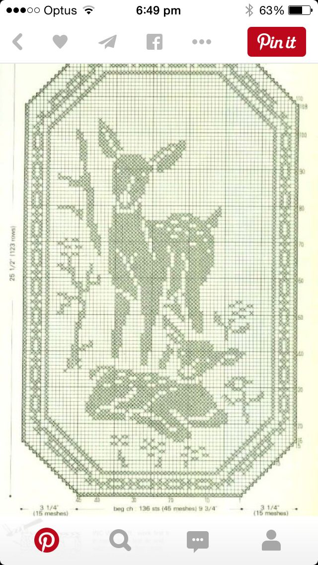 36 best images on pinterest filet crochet charts schemes animals for fillet crochet ccuart Images