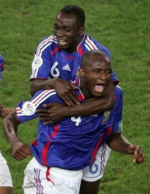 Patrick Vieira and Claude Makelele: 2 of the World's best holding midfielders