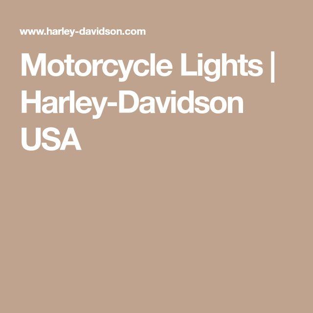 Motorcycle Lights | Harley-Davidson USA