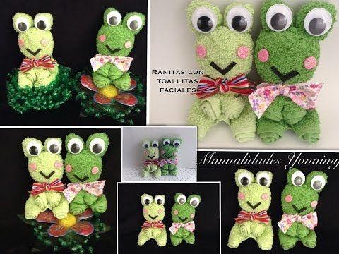 Towel fold craft - Towel butterfly tutorial摺毛巾手工教學 - 毛巾蝴蝶教學 - YouTube