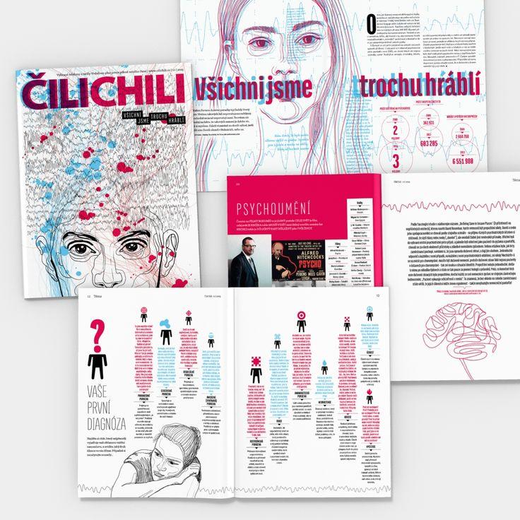 ČiliChili 10/2015 illustration by Tereza Vašků