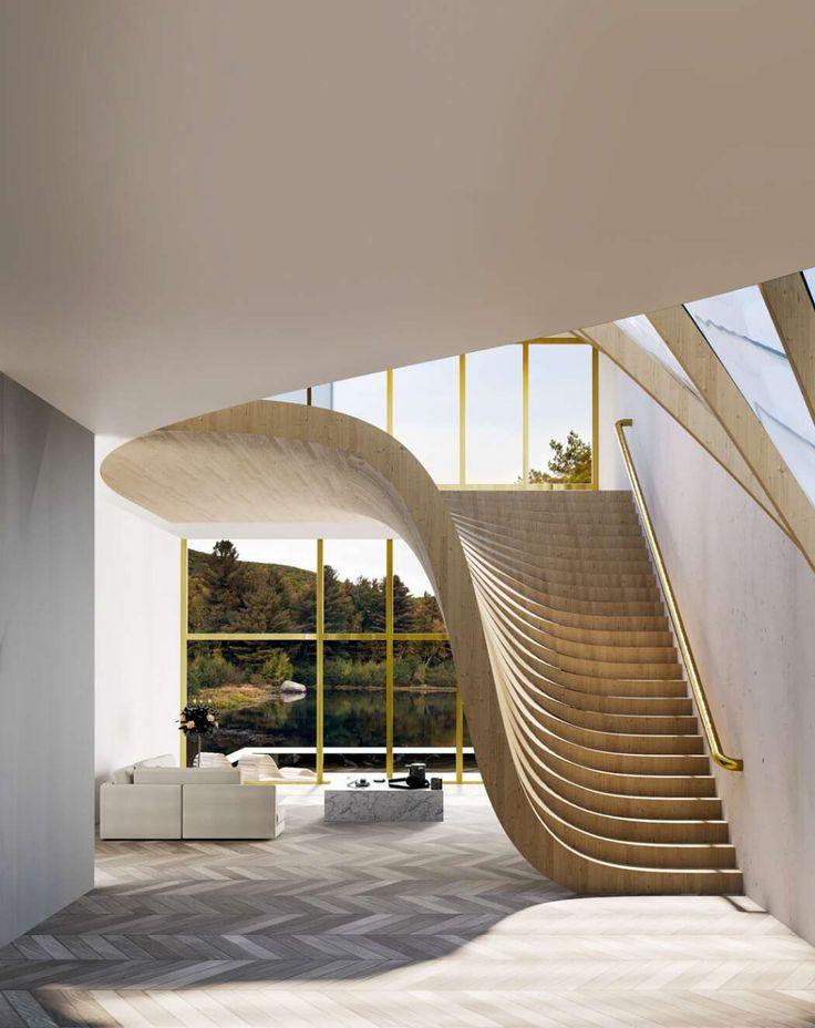 Casa do lago por Wafai Architecture   – stairs