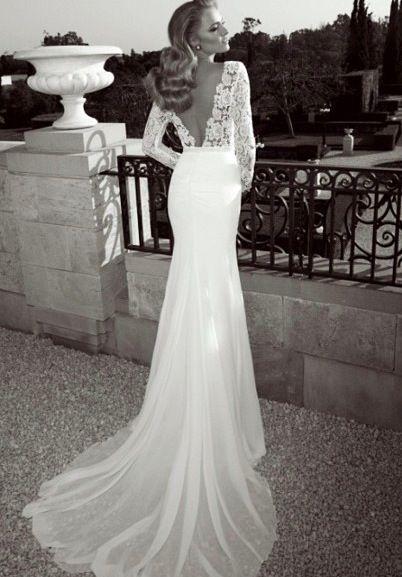 17 Best ideas about Long Sleeved Wedding Dresses on Pinterest ...