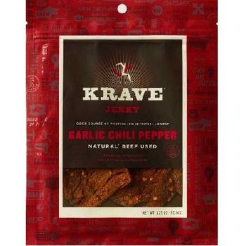 Like trail mix, only meatier. Good source of protein: lowfat, no nitrites, no artificial ingredients. With amazingly unique and savory flavors, Krave jerky is moist, wholesome and seriously satisfying