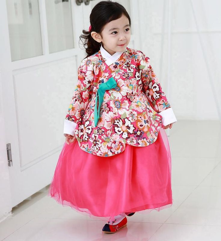 Let my baby wear Korean traditional clothes