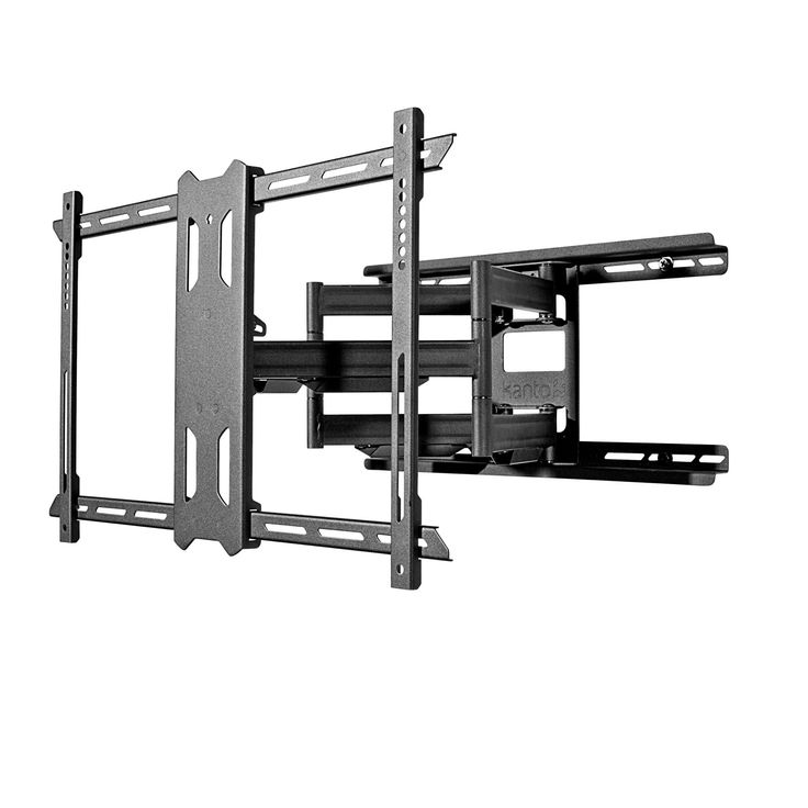 Full Motion Mount for 37-inch to 75-inch TVs - Black