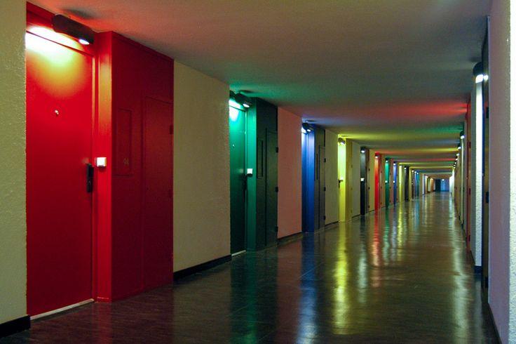 Ле Корбюзье / Le Corbusier. Жилая единица (Unite d'Habitation), Firminy, Франция. 1960
