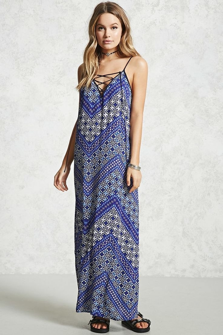 Strappy Maxi Dress - Summer Dresses - 2000055188 - Forever 21 Canada English