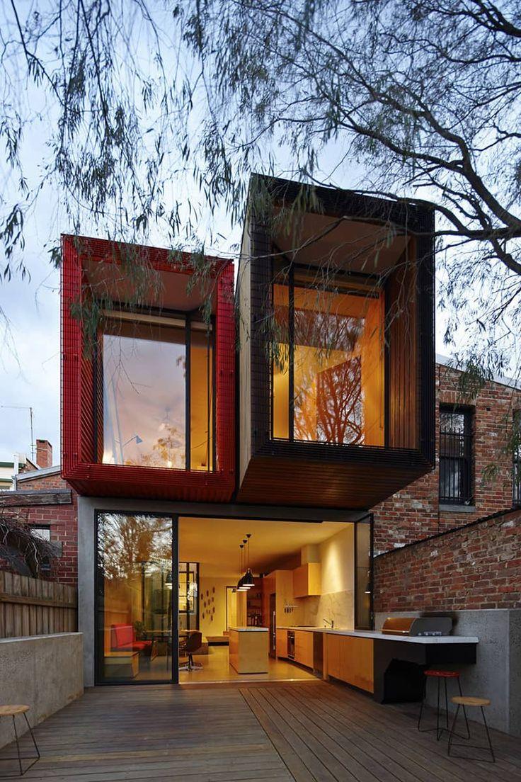 Design Detail – Die Küche in diesem Haus fließt von innen nach außen   – Architektur