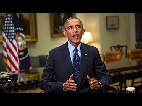 """Obama: 'American Leadership the One Constant in an Uncertain World', Sep 2014_What a JOKE. He has made himself a LAUGHING STOCK among the world's leadership. He has no integrity, no authority, and no leadership abilities. He is a weak, pathetic little """"man"""". The only CONSTANT is his lack of leadership ability. He is puppet tool of the global elite - nothing more than a figure head for their manipulations."""