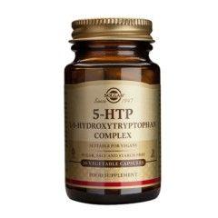 Solgar 5 Hidroxitriptófano es un complemento alimenticio indicado en casos de insomnio, desórdenes del sueño, estados de ansiedad y tensión nerviosa, y actúa como analgésico en casos de migraña, artritis o fibromialgia. Cada cápsula vegetal aporta 5-...