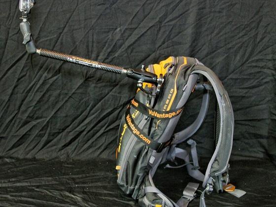 Camera (POV / Action) Backpack Mount GoPro ,Contour , others by Rodger Dean, via Kickstarter.