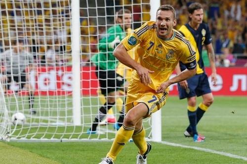 Andrey Shevchenko | Ukraine - Sweden 2:1, Euro 2012