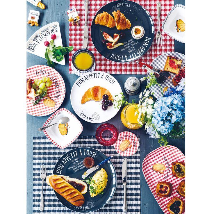 """・ 【フレンチスタイルをお手本に、上質な暮らしを楽しみましょう】 8/24~リビング店頭では、フランスの暮らしをイメージしたアイテムが順次登場予定! ・ 第一弾のテーマは、「パリの朝食」。 ・ """"朝起きたら身支度もほどほどに、焼きたてのバゲットやクロワッサンを買いに近くのブーランジェリーへ"""" """"テーブルコーディネイトには、ギンガムチェックのクロスやフレッシュな彩りのフルーツを取り入れて…"""" ・ そんなパリジャン、パリジェンヌの日常的な朝食シーンをイメージしたアイテムが揃います。 ・ 発売は8/24から。どうぞお楽しみに! ・ #AfternoonTea #アフタヌーンティー #AfternoonTeaLIVING #アフタヌーンティーリビング #petitdejeuner #プチデジュネ #フランス #France #パリ #Paris #フォトジェニック朝食 #LaVieenFleurs #花とアートとフランスの暮らし #花で彩る毎日の暮らし #朝食 #朝ごはん #breakfast"""