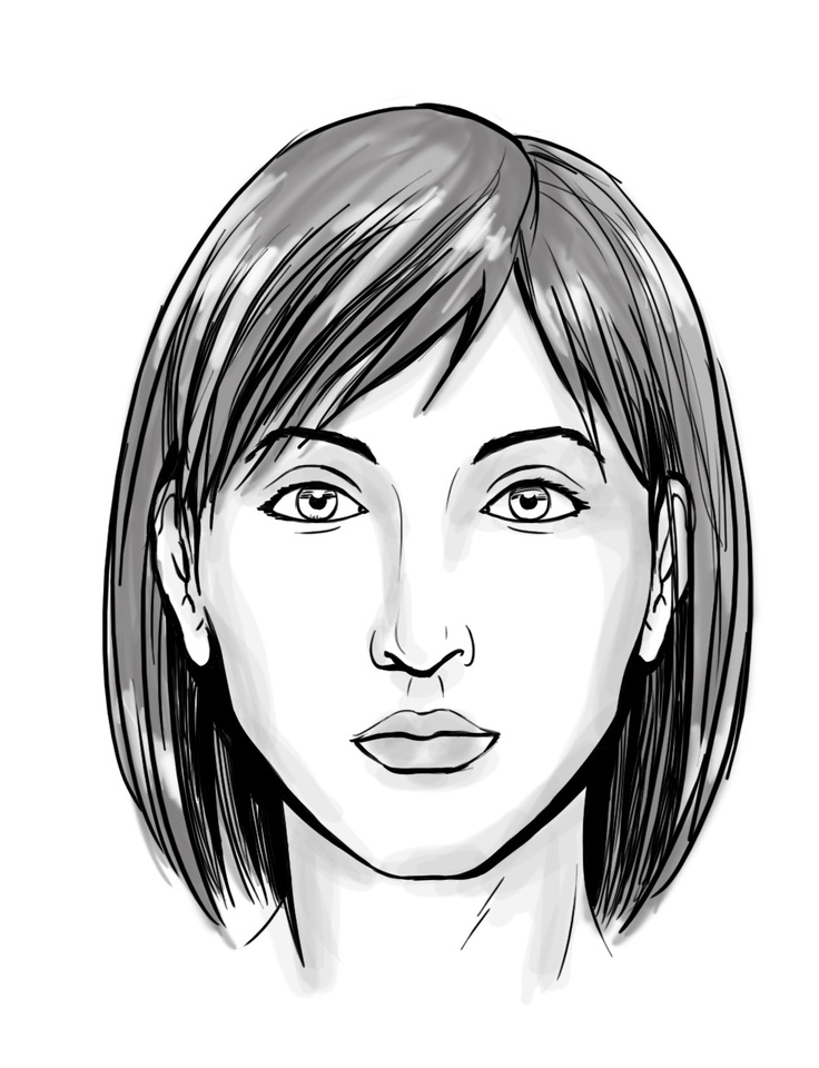 Scribble Drawing Of Face : Best drawing people faces anatomy images on
