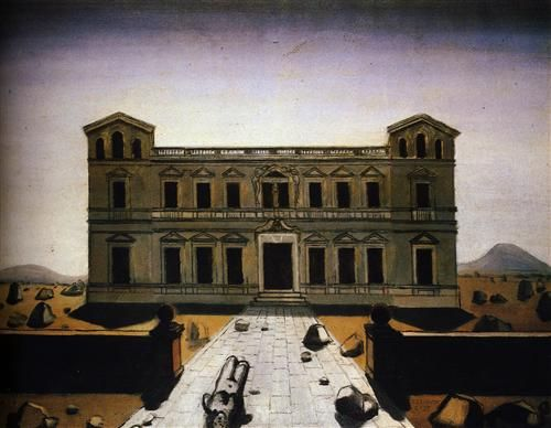 Ruined palace  - Paul Delvaux