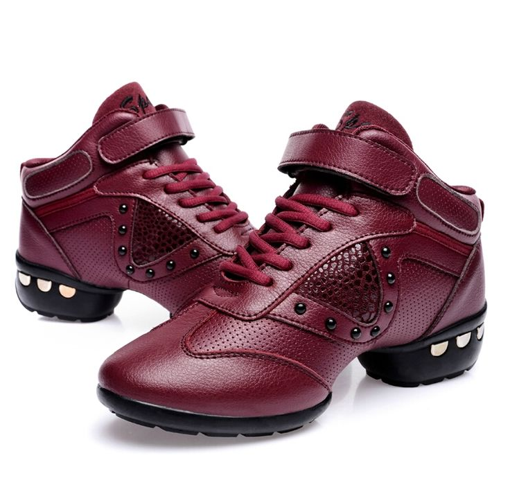 49.00$  Buy here - http://ai2dd.worlditems.win/all/product.php?id=32229496107 - Genuine leather Dance shoes women Jazz Hip Hop Shoes latin salsa sneakers for woman dance shoes Size 35.36.37.38.39.40