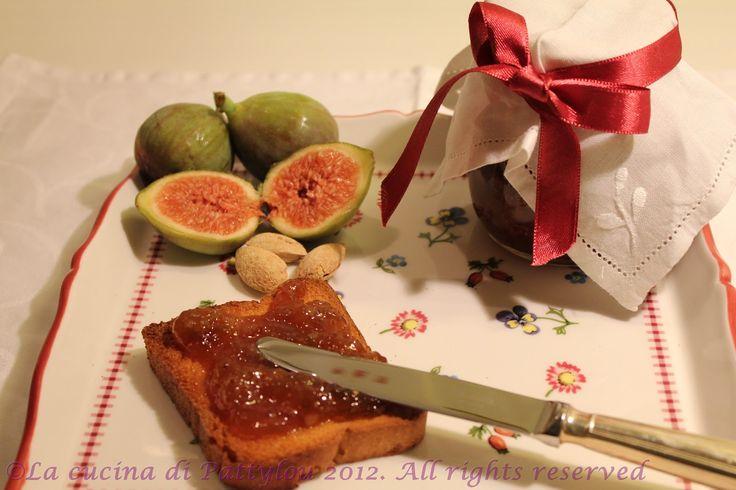 La cucina di Pattylou: La confettura di fichi e mandorle bimby