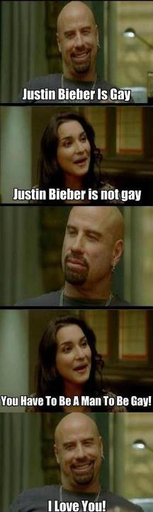 Justin Bieber Is Not Gay? Pinned From