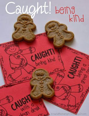 Secret Santa of Kind Words & FREE downloadable kindness coupons for the classroom!