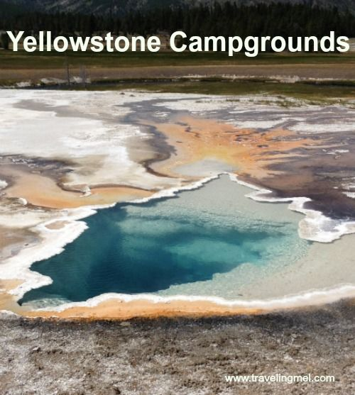Yellowstone campground review-- just in time for summer.