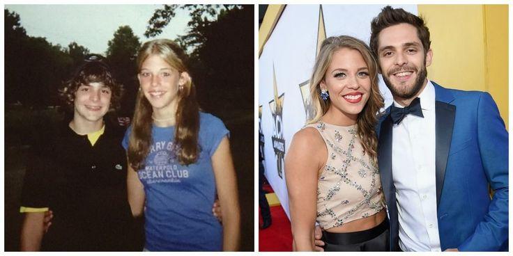 """How Thomas Rhett and Lauren Akins Met - Inspiration Behind """"Die a Happy Man"""""""