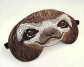 Sloth Sleep Mask - Extended Processing Time
