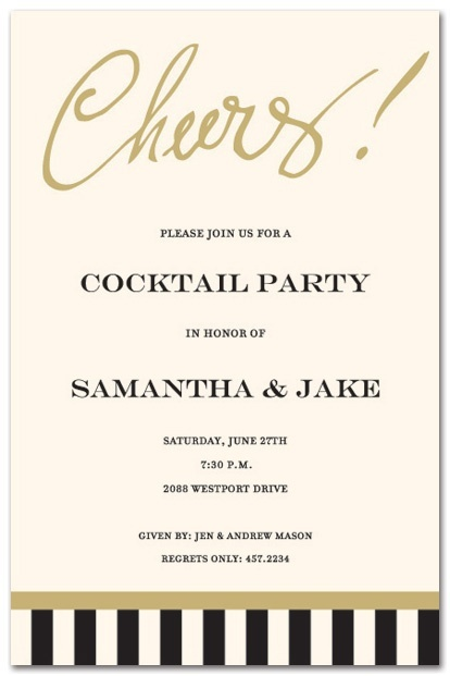 Engagement Party Invite Wedding Cocktail Party Invitations Wedding Party Invites Cocktail Party Invitation