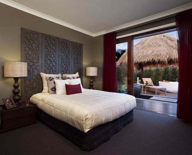 Resort style bedroom