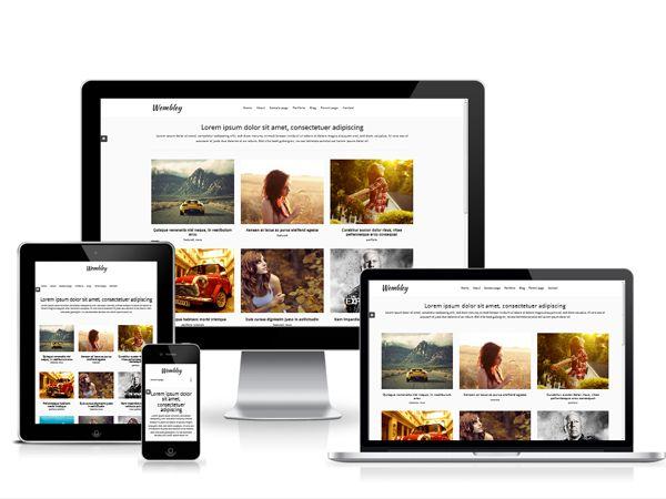 96 best Free Wordpress Themes images on Pinterest   Wordpress ...