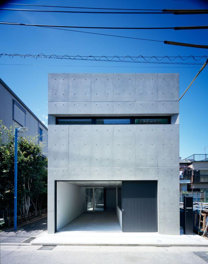 Architecture | Concrete | Minimalism | Grow by APOLLO Architects & Associates