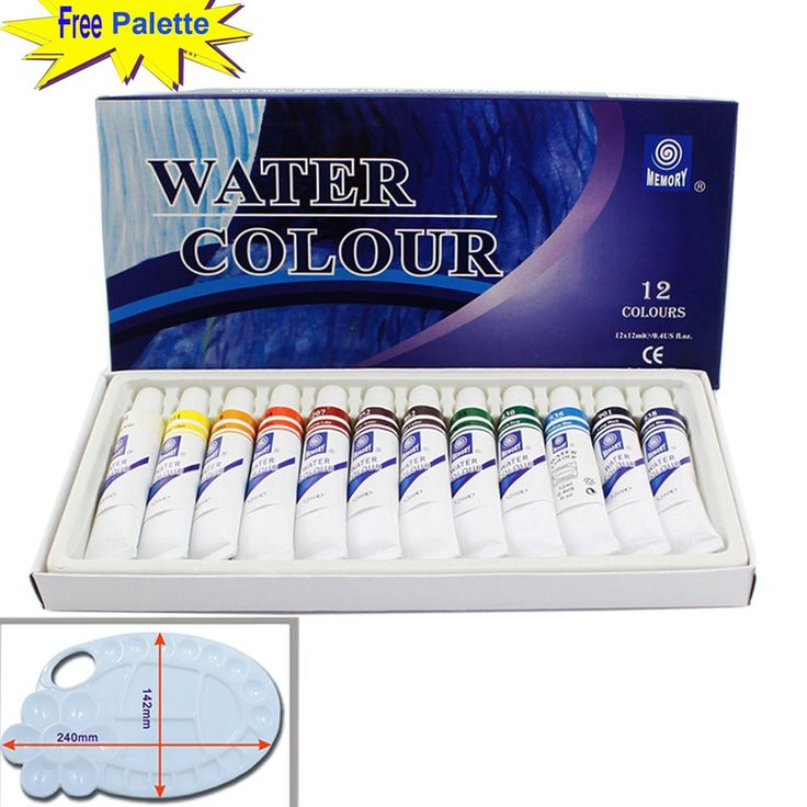 Magicdo 12 Cols professional Watercolor Paint Set With Free Palette, Quality Non Toxic Paint, 12ml Heavy, Rich Pigment, Best Selling Color, Suitable for Kids 3+ to Adults (1212ml) - https://tryadultcoloringbooks.com/magicdo-12-cols-professional-watercolor-paint-set-with-free-palette-quality-non-toxic-paint-12ml-heavy-rich-pigment-best-selling-color-suitable-for-kids-3-to-adults-1212ml/ - #PaintBrushes