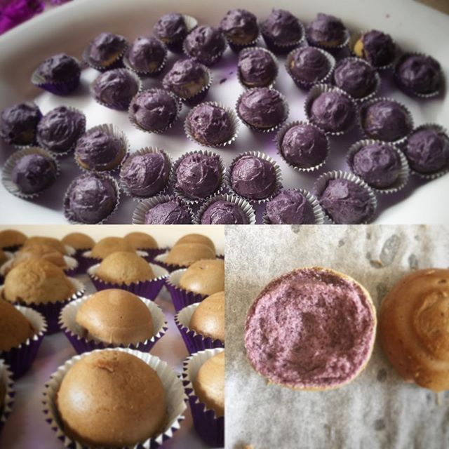 """I baked purple cake pop balls with purple icing for the school. We held our annual Epilepsy purple day fundraiser. #epilepsy #purpleday #baking #cakepopballs"" Photo taken by @keggles5 on Instagram, pinned via the InstaPin iOS App! http://www.instapinapp.com (07/24/2015)"