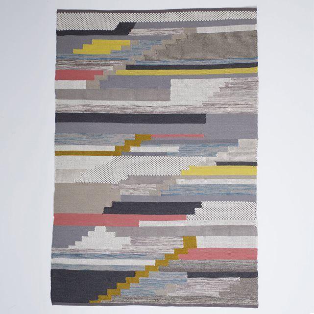 Tapis laine et coton, Akenza La Redoute Interieurs | La Redoute Mobile