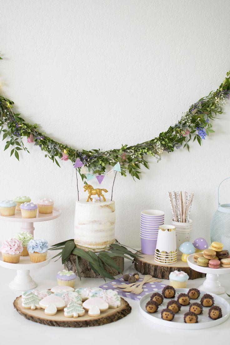host a magical unicorn birthday party in 2019 1st birthday rh pinterest com