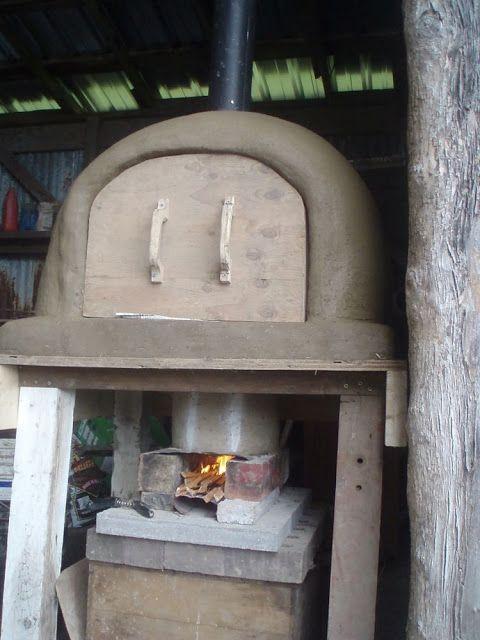 Rocket Oven - A hybrid of a rocket stove and a cob oven. 100 process pics.                                                                                                                                                                                 More