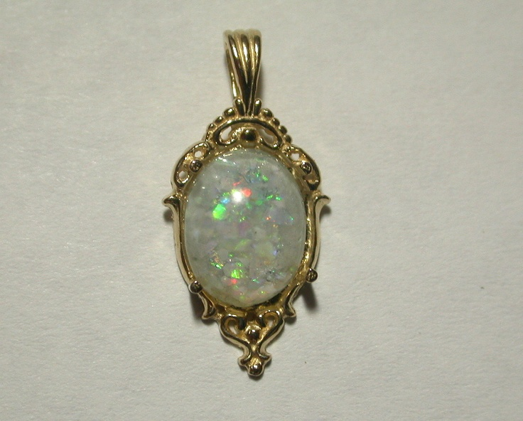 Sparkly Opal Ring Asheville