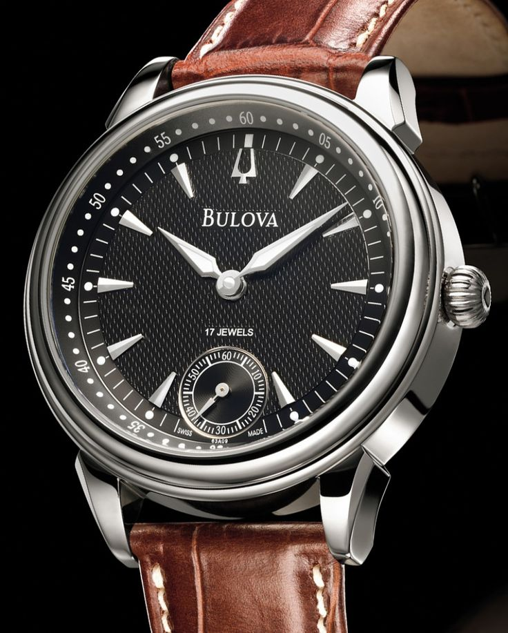 Bulova | Handaufzug Ref. 63 A 09 | Edelstahl | Uhren-Datenbank watchtime.net