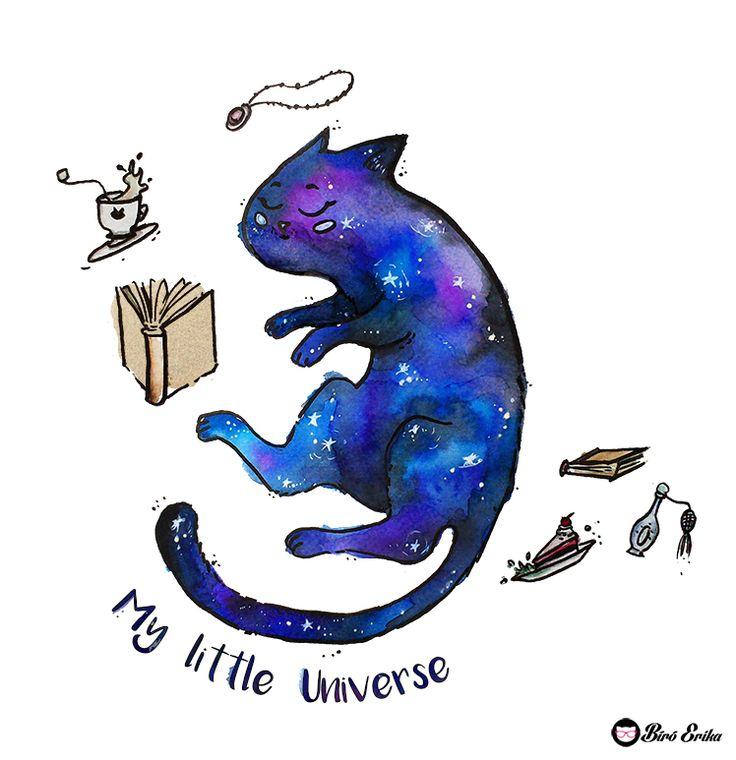 My little universe by Erika Biro www.erikabiro.com