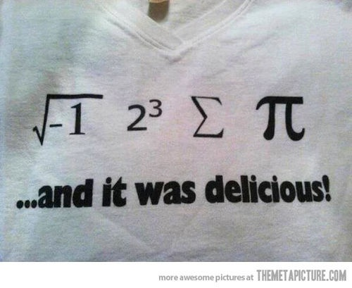 funny math quote pi Maths quotes Pinterest