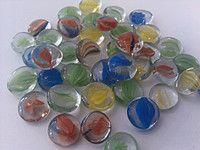 Стеклянные камни Марблс цветные 119982979