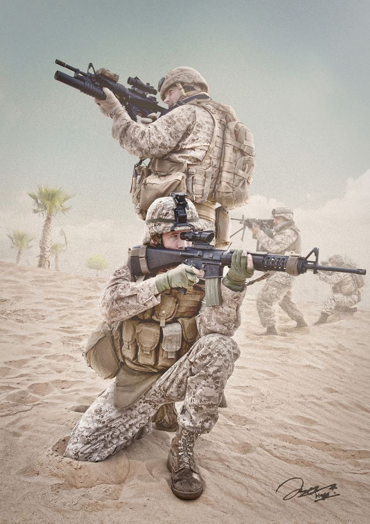 Operation Desert Storm by Jake Hays
