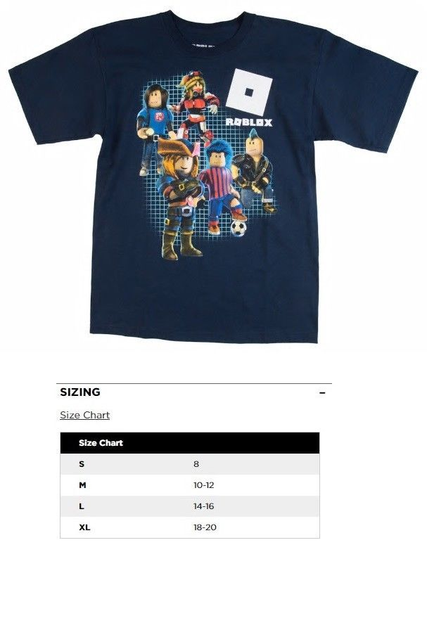 Boys Clothing Sizes 4 And Up 11452 Boys Kids Roblox Characters S S