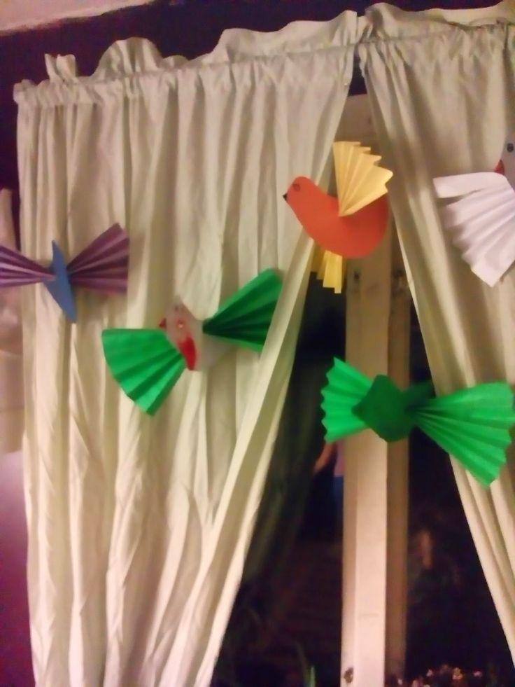 skapa, lek och lär: Flyttfåglar