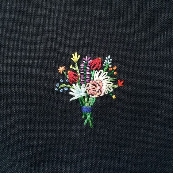 """broderiemyworld: """" Happy Cactus Embroidery """""""