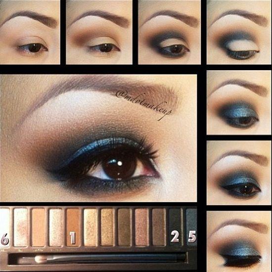 Makeup Tutorial for Brown Eyes  b26c9cea9a45b03fe8ab3bb0609e1a97