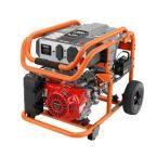 7,000-Watt Gasoline Powered Electric Start Portable Generator with Honda GX390 Engine
